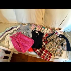 Baby girl Spring-Summer clothes Lot, 29 pieces